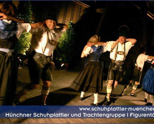 Bayerische Schuhplattlergruppe Bayerische Folklore M 252 Nchen