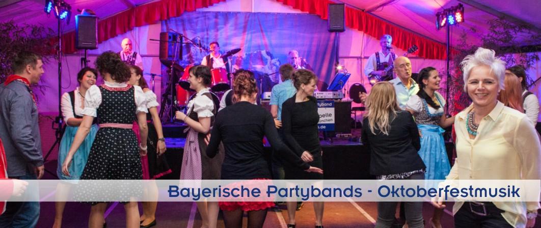 Oktoberfestmusik und bayerische Musik von PIDDYs Oktoberfestband aus München