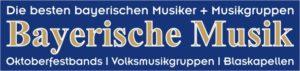 Bayerische Volksmusikgruppen und bayerische Oktoberfestbands spielen bayerische Musik